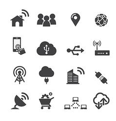 tachnology icon vector image