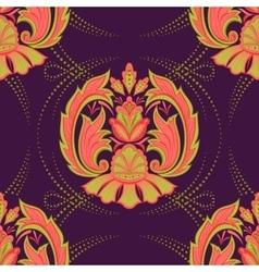 Seamless oriental wallpaper2 vector image vector image