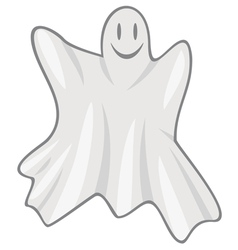 flying ghost vector image