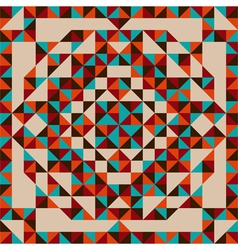 Abstract triangle pattern vector