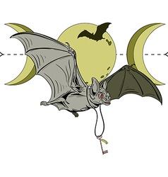 Bat key vector image vector image