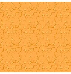 Cracked Desert Ground Background vector image