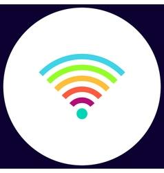 Wireless computer symbol vector image vector image