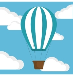 Balloon success progress business vector