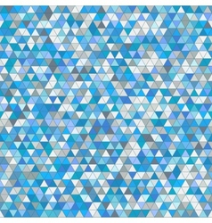 Colored triangle seamless pattern background vector image vector image