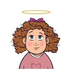 girl innocent vector image