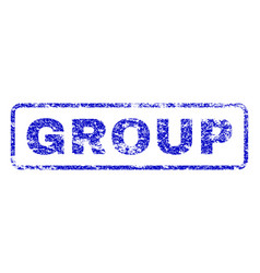 Group rubber stamp vector