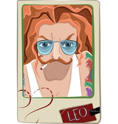 Leo man vector image vector image