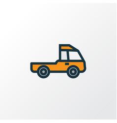 prime-mover colorful outline symbol premium vector image