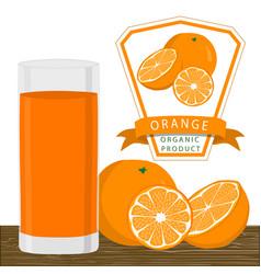 the orange vector image vector image