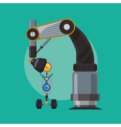 Robot and technology design vector