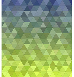 Abstract triangle mosaic background vector image vector image