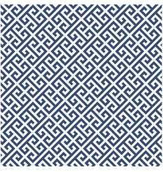 Meander diagonal pattern - greek ornament backgrou vector