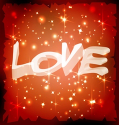 love background 1 vector image