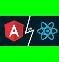 Angular vs react vector
