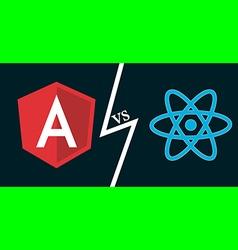 Angular vs react vector