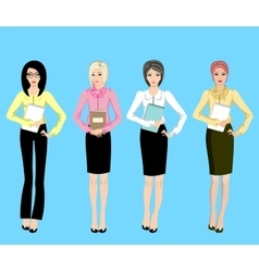 Business women vector