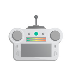 Electronic gadget for game console icon vector
