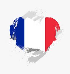 Flag of france vector