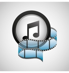 Mobile media player icons vector