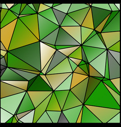 Abstract stained glass in spring colors vector