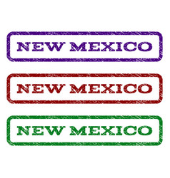 New mexico watermark stamp vector