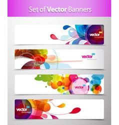 Web headers vector