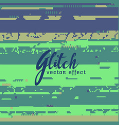 abstract glitch background for corrupted image vector image