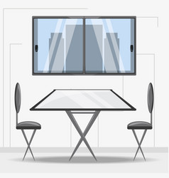 furniture concept design vector image