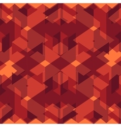 Isometric cubes seamlessly repeatable pattern 3d vector