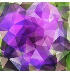 Modern geometric background with polygons vector