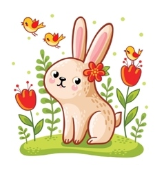 a hare vector image vector image