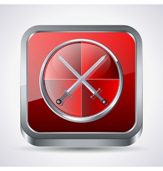 Antivirus icon vector image