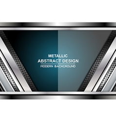 Business metal backgrounds design vector