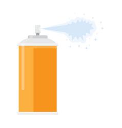 Deodorant spray aerosol air freshener vector