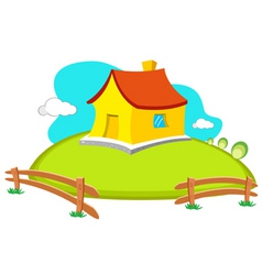 natural home vector image