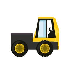 mini truck vector image