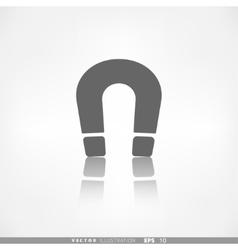 Magnet symbol electromagnetism symbol vector
