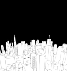 Elegant city vector