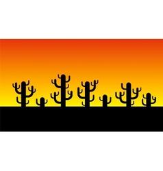 Kaktus vector image vector image