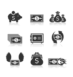 Money an icon3 vector image vector image