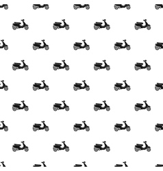 Scooter pattern simple style vector image