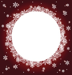 Winter background 5 vector
