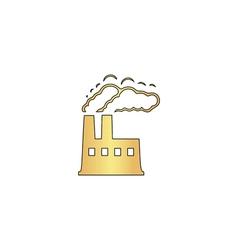Power plant computer symbol vector
