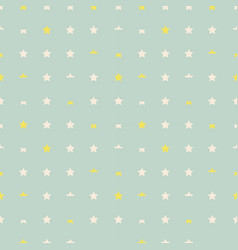 the pattern of stars vector image vector image