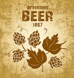Beer brewery design vector