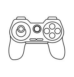 controller videogames related icon image vector image