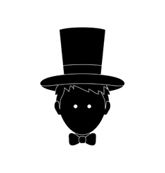 Magician with hat vector