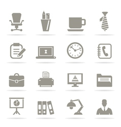 Office icons9 vector