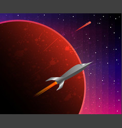 a space odyssey vector image vector image